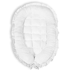 Ninho Redutor para Bebê - Piquet Branco