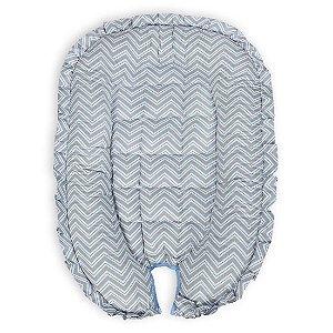 Ninho Redutor para Bebê - Chevron Azul