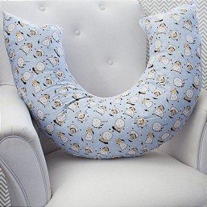 Almofada Amamentação - Ovelha Azul