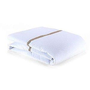 Edredom de Berço Conforto Carrossel Branco
