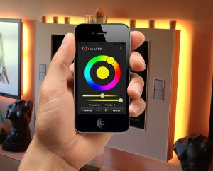 Kit RGB ColorLEDS Wi-Fi Fita LED 5 Metros
