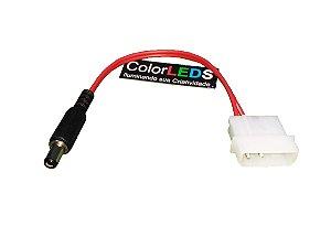 Plug Molex P4 Para Computador Pc Fita Led Fonte Placa Mãe