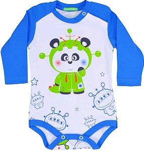 Body manga longa panda ET Get baby