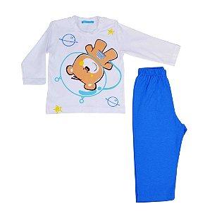Conjunto de camiseta manga longa e calça astronauta Get baby
