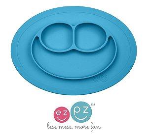 Mini Jogo Americano com prato azul ezpz