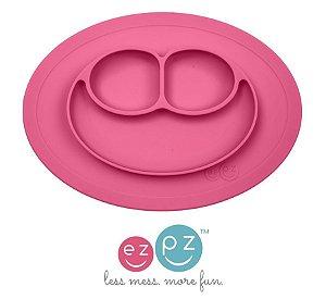 Mini Jogo Americano com prato rosa ezpz
