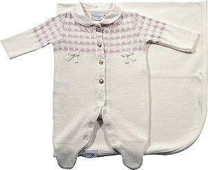 Saida de maternidade trico e tranças Noruega
