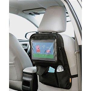 Organizador para carro com case para tablet Multikids