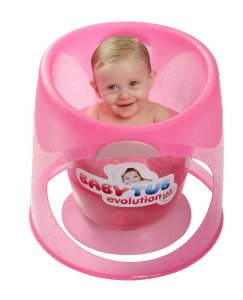 Banheira Ofurô Para Bebê Evolution Rosa Baby Tub