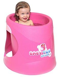 Banheira Para Bebê Ofurô Rosa Baby Tub