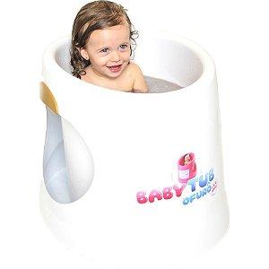 Banheira Ofurô 1 à 4 anos Branca Baby Tub