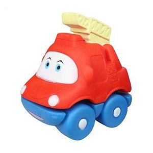 Carrinho Motorista Soft Vermelho Dican