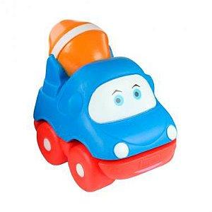 Carrinho Motorista Soft Azul Dican