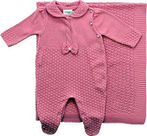 Saida de Maternidade Pink Ponto Bolinhas Noruega
