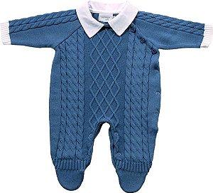 Macacão Bebê Azul Royal Noruega