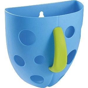 Organizador para banho Super Scoop Azul Multikids