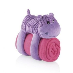 Cobertor Hipopótamo 3 em 1 Multikids