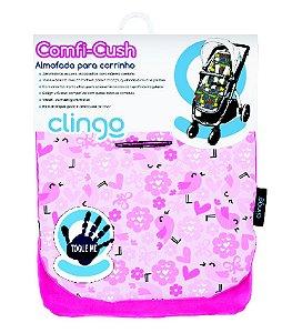Almofada para carrinho comfi cush love Clingo