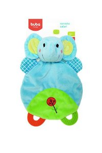 Naninha Com Mordedor Safari Elefante Buba Toys