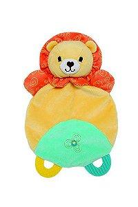 Naninha Com Mordedor Safari Leão Buba Toys