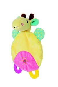 Naninha Com Mordedor Safari Girafa Buba Toys