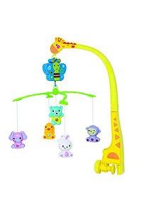 Móbile Infantil Musical Animais Buba Toys