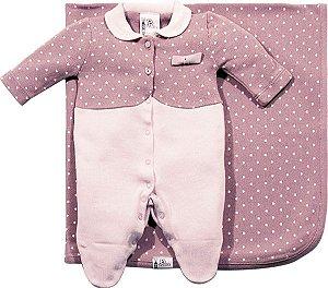Saida de Maternidade Feminina Coração B de bebê