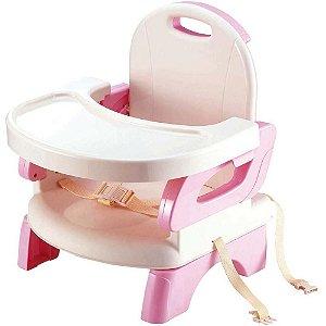 Cadeira de Alimentação Portátil e Flexível Rosa Mastela
