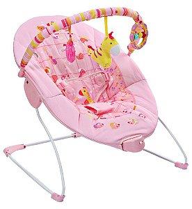 Cadeira de Descanso 11kg Rosa Girafa Mastela