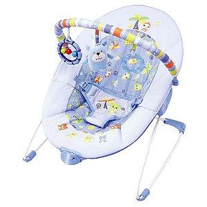 Cadeira de Descanso 11kg Azul Urso Mastela