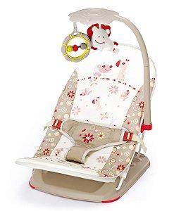 Cadeira de Descanso Portátil Bege Mastela
