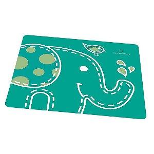 Jogo Americano de Silicone Infantil Elefante Marcus & Marcus