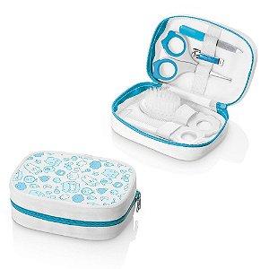 Kit Higiene Infantil Azul Multikids 6 peças