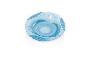 Prato Com Ventosa Azul Multikids