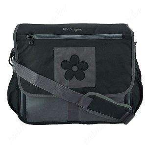 Bolsa de Maternidade Daisy Diaper Bag Preta Simplygood