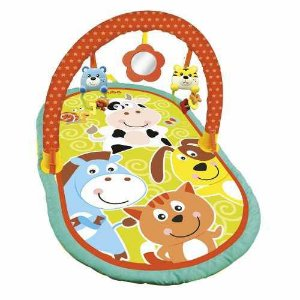 Tapete Atividades Baby Animais Buba Toys
