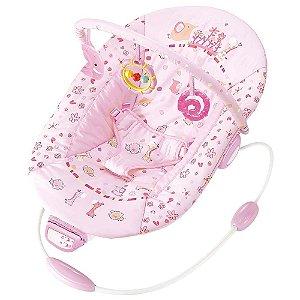 Cadeira Musical e Vibratória 11kg Premium Rosa Mastela
