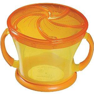 Porta Biscoito Infantil Laranja e Amarelo Munchkin