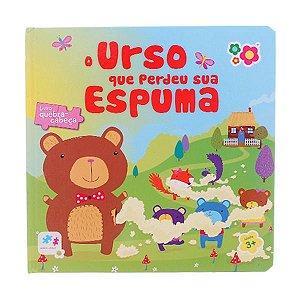 Livro quebra cabeça Urso Dican