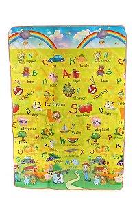 Tapete Infantil Portátil Para Bebê Carrossel 180x120cm EBYE