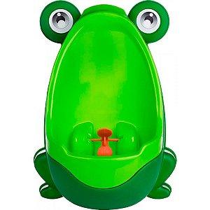 Mictório Infantil Sapinho Verde Portátil Ebye