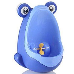 Mictório Infantil Sapinho Azul Portátil Ebye
