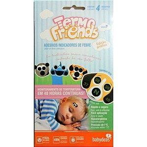 Termo Friends Adesivo para Febre kit 4 cxs babydeas