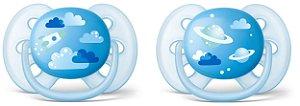 Chupeta Ultra Soft 6 à 18 meses Menino Philips Avent