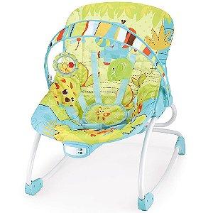 Cadeira de Descanso 18kg Azul e Verde Rocker Mastela