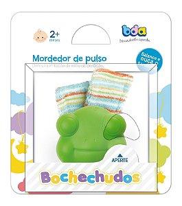 Mordedor de Pulso Bochechudos Sapo Verde BDA