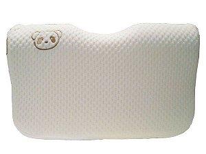 Travesseiro Infantil Ergonômico Memory Foam Bambu Clingo