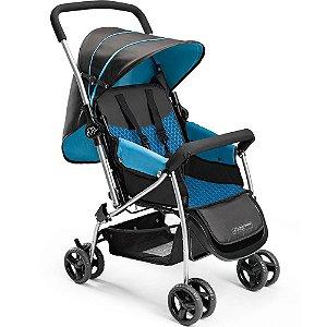 Carrinho de Bebê Flip Berço Azul Multikids Baby