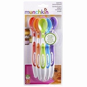 Colher Infantil 06 unidades Munchkin
