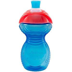 Copo Infantil Bite Proff Click Lock Azul 266ml Munchkin
